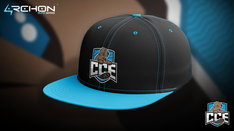 Champlain College Esports - Baseball Hat - Archon Clothing @AllenMcCoyDesigns