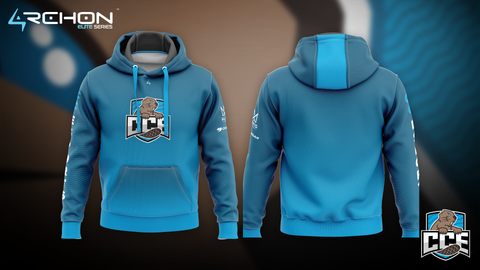 Champlain College Esports - Pullover Hoodie - Archon Clothing @AllenMcCoyDesigns
