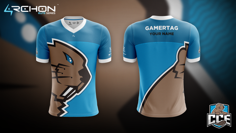 Champlain College Esports - Varsity Jersey - Archon Clothing @AllenMcCoyDesigns