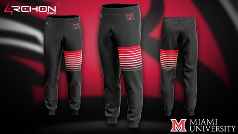 University of Miami Ohio Esports - Joggers - Archon Clothing @Nexxiaa