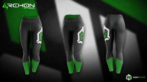 Nontoxic Esports - Leggings - Archon Clothing @AllenMcCoyDesigns