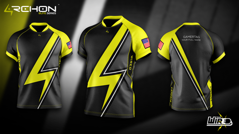 Wired Esports - Elite Jersey - Archon Clothing @AllenMcCoyDesigns