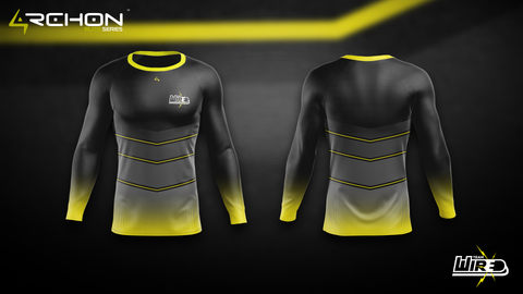 Wired Esports - Long Sleeve Compression - Archon Clothing @AllenMcCoyDesigns