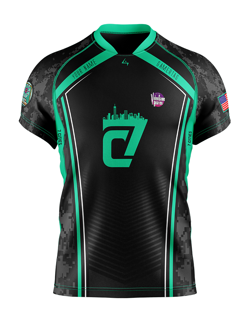 7 Cities Gaming - Earth Elite Jersey