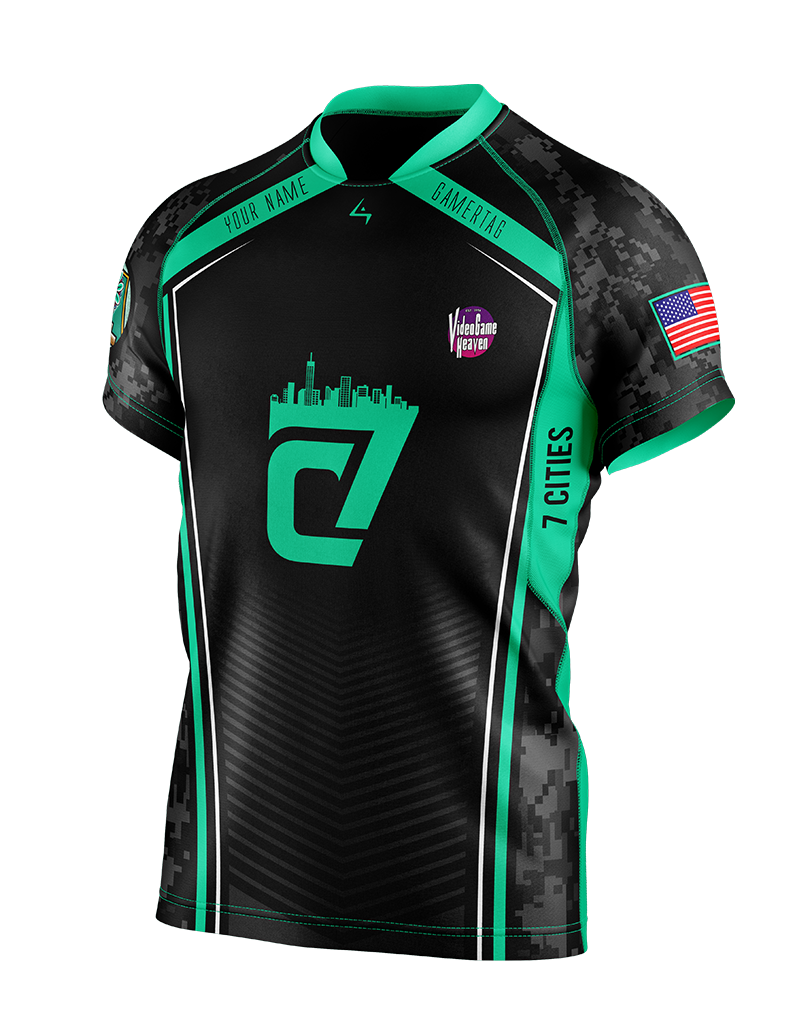 7 Cities Gaming - Elite Jersey - Earth