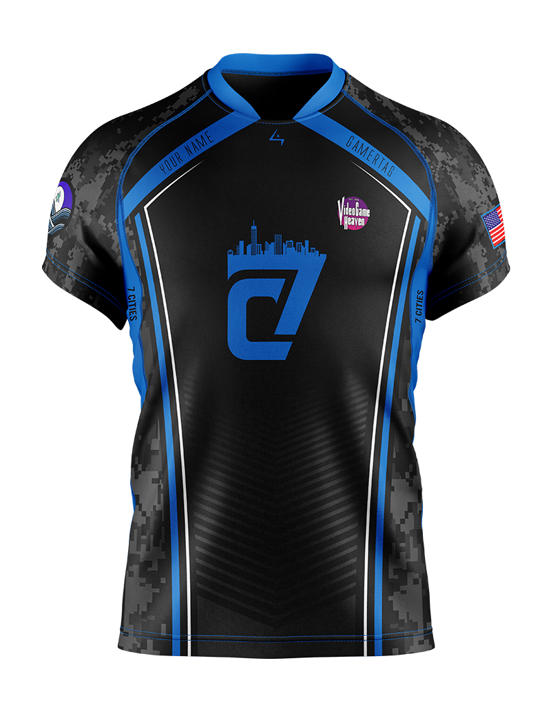 7 Cities Gaming - Elite Jersey - Water