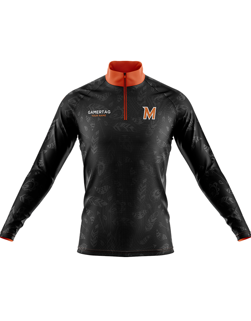 Mohonasen Esports Quarter Zip Long Sleeve