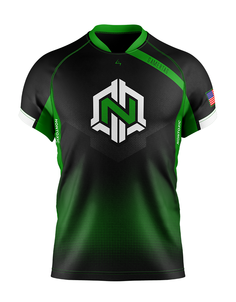 NonToxic Gamers - Elite Jersey - Black