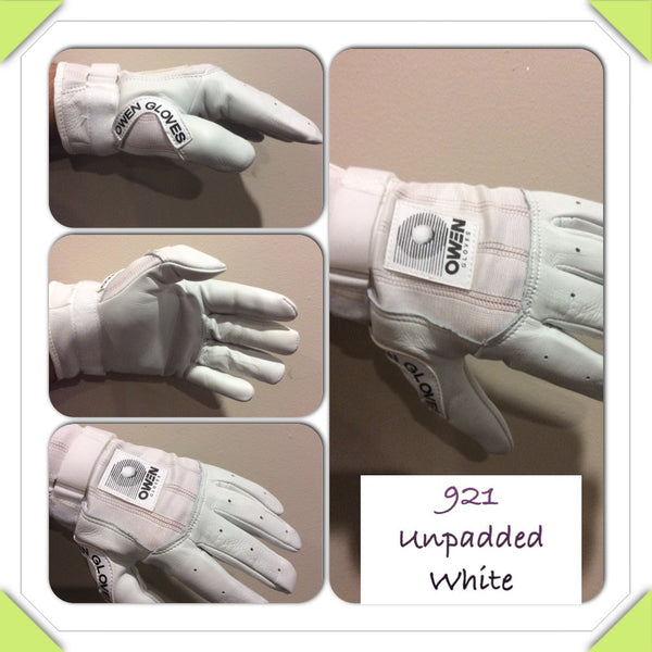 Owen Gloves 921 Unpadded White - New York Handball Store Corp
