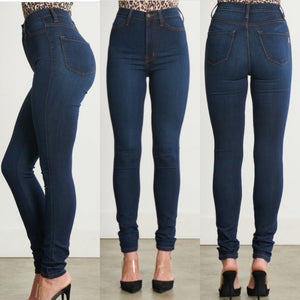 High Waist Dark Denim