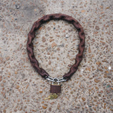 Chain Lock Brown