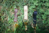 Leather Keychain Natural