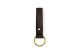 Leather Keychain Brown