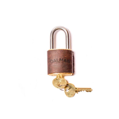 Key Padlock Brown