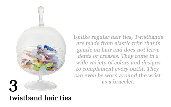 Cheerful Chic 2015 Holiday Gift Guide - Beauty Edition - Twistband Hair Ties