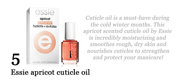 Cheerful Chic 2015 Holiday Gift Guide - Beauty Edition - Essie Cuticle Oil