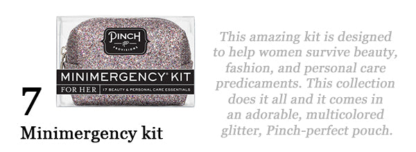 Cheerful Chic 2015 Holiday Gift Guide - Beauty Edition - Pinch Provisions Minimergency Kit