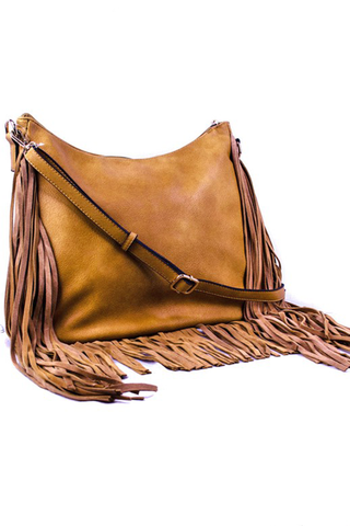 Sienna Fringed Hobo