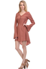 Bell Sleeve Babydoll Dress