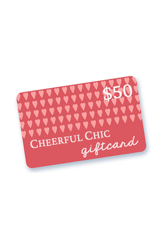 Cheerful Chic Gift Card