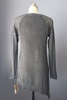 Charcoal Asymmetrical Hem Sweater
