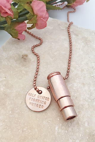 Half United Classic Bullet Necklace