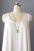 Half United Gold & Mint Bullet Necklace