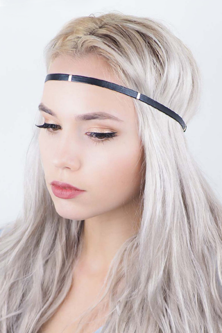 Kitsch Bar Vegan Leather Headband
