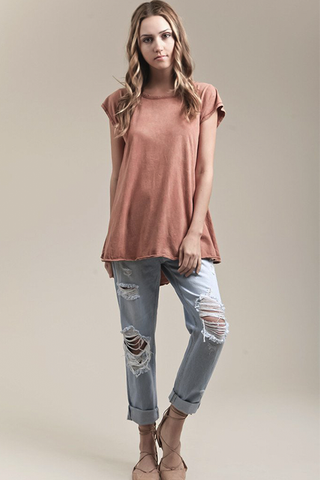 Salt Dye Knit Top