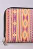 Tribal Print Wallet