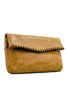 Foldover Stitched Clutch