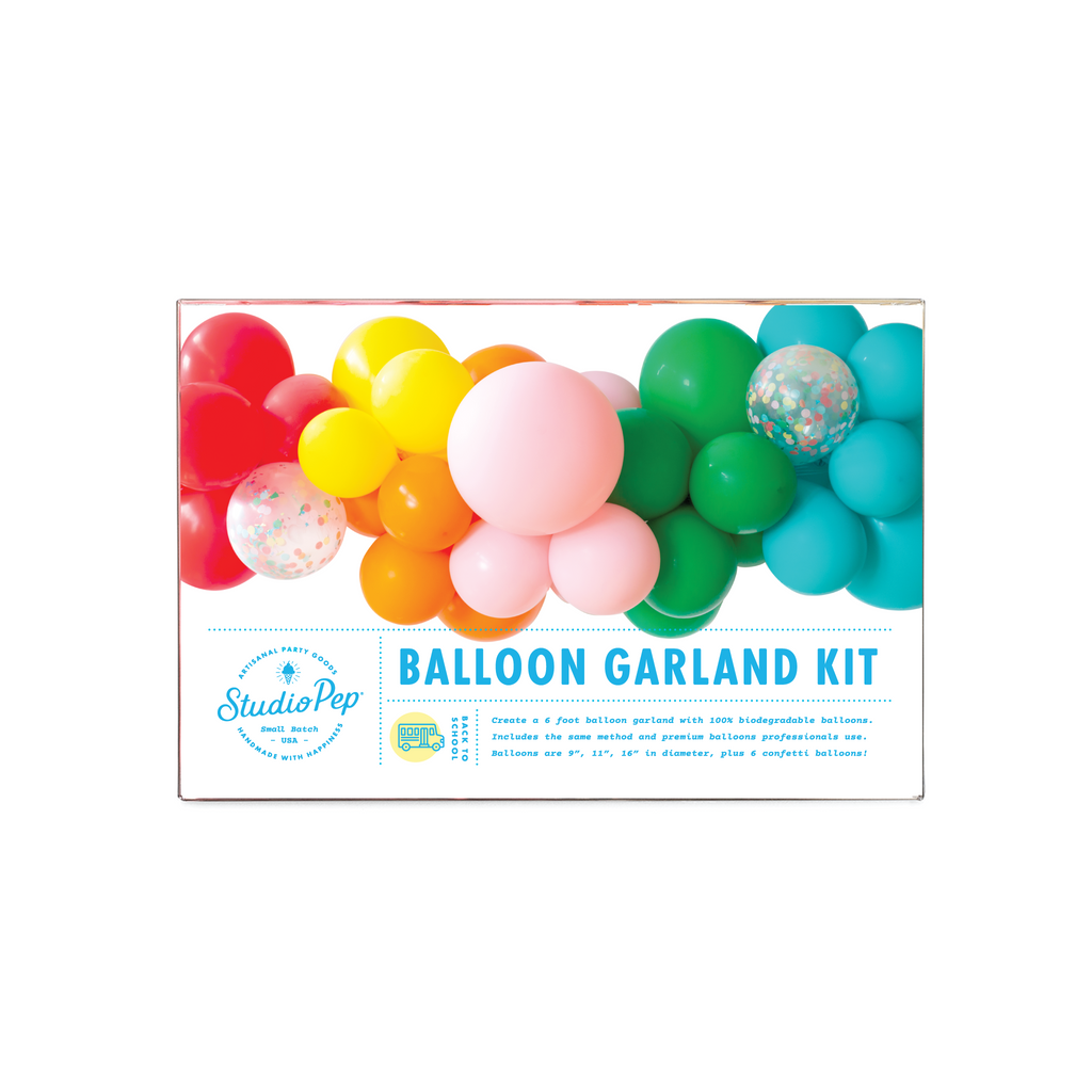 Back to School Balloon Garland