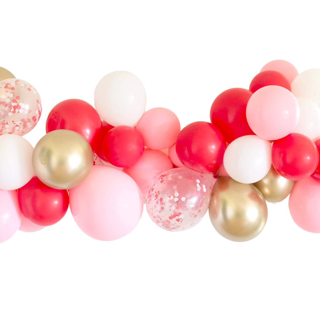 Candy Cane Balloon Garland