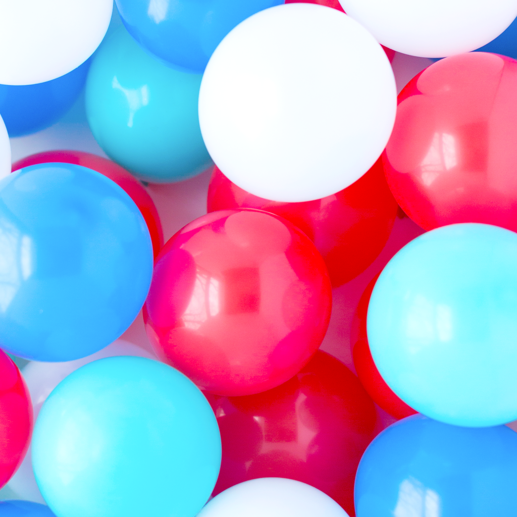 Patriotic Mini Balloons