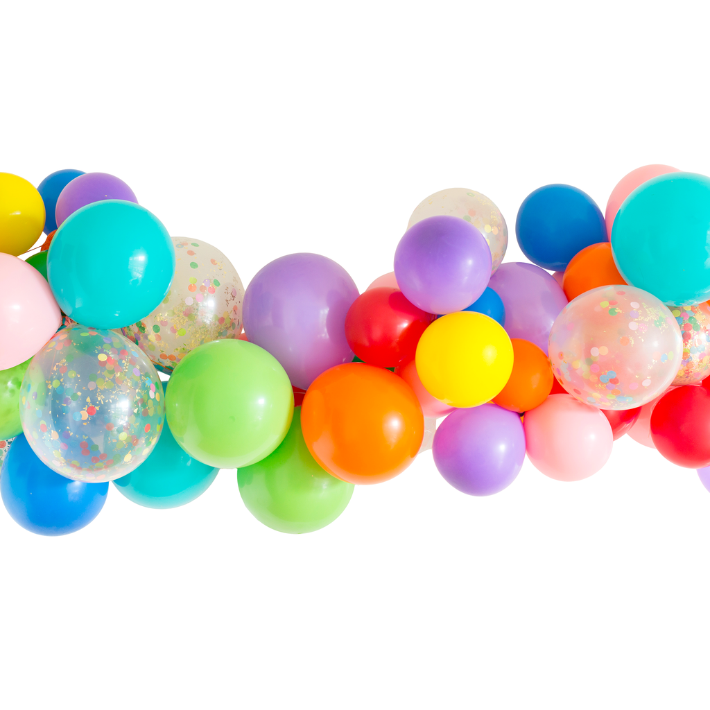 Rainbow Balloon Garland