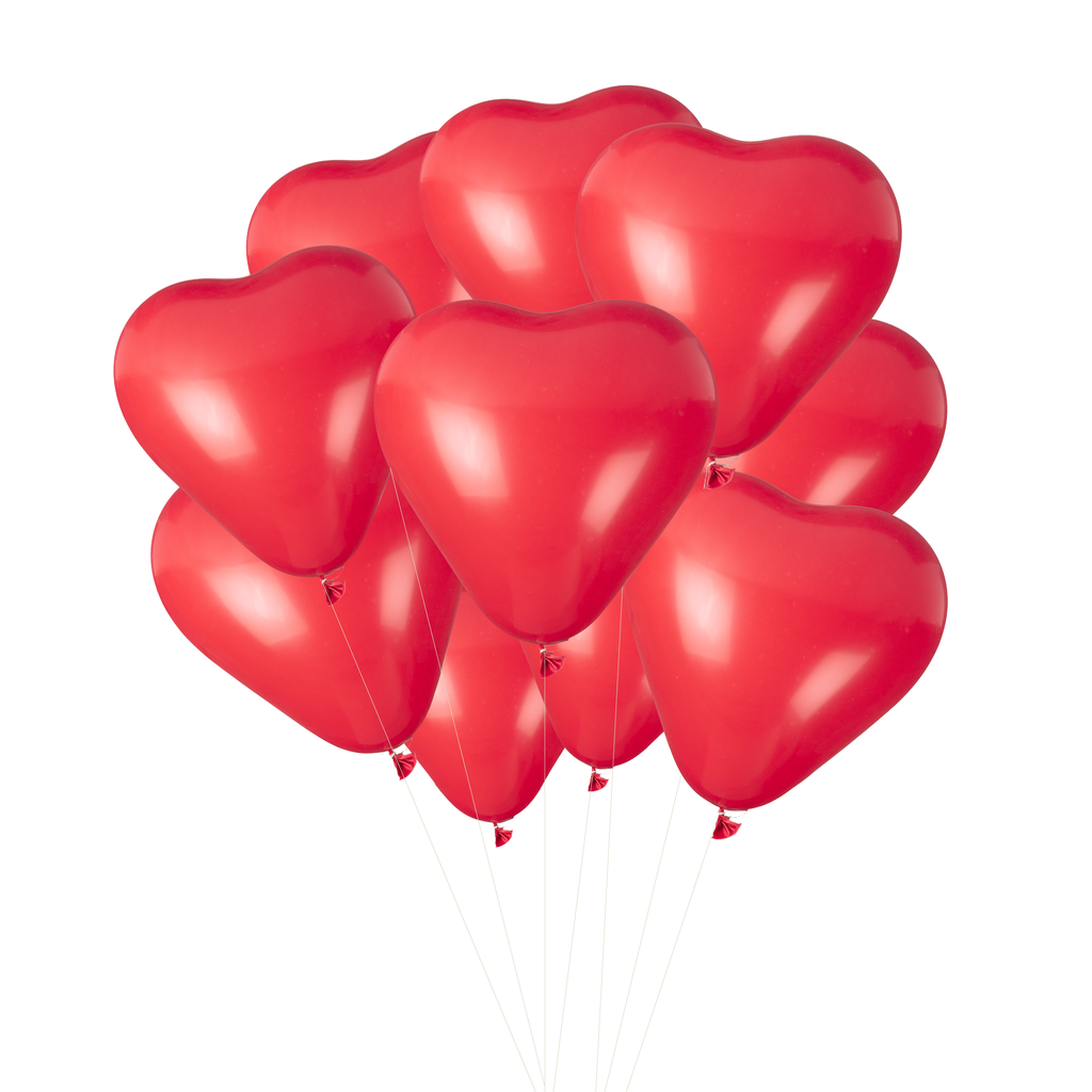 Kisses Heart Balloons