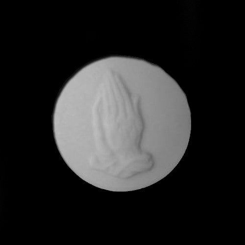Praying Hands Round Soap - Goat Milk Etc.