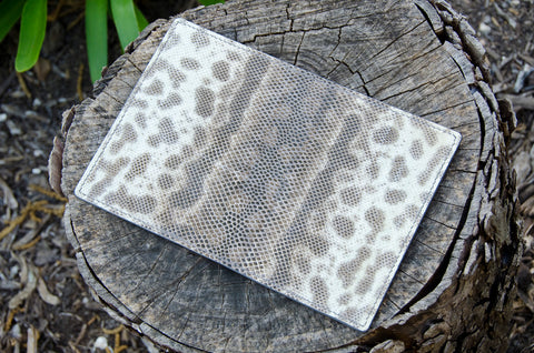 Custom Karung Snakeskin Passport Wallet by WestEast Armory