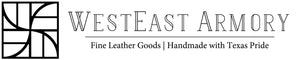 WestEast Armory creating fine, custom, and bespoke handmade leather goods in San Antonio, Texas