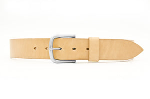 WestEast Armory Rugged Handmade Veg Tan leather belt