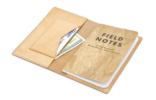 WestEast Armory Handmade Leather Field Notes Wallet