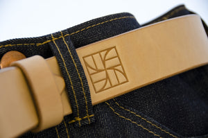 WestEast Armory Handmade Hermann Oak Vegtan Belt