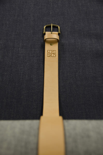 Everyday Leather Belt - Raw