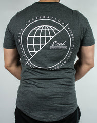 WorldWide Inspiration Tee (Charcoal)