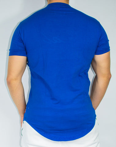 Scal Casual Tee - Royal Blue