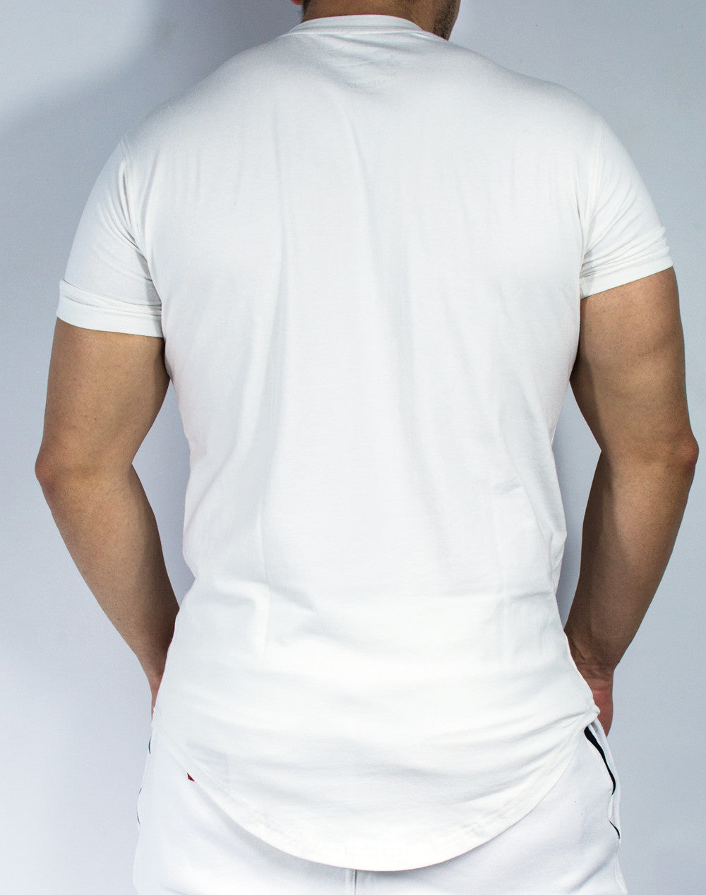Scal Casual Tee - White - Scal Clothing