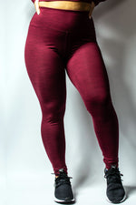 Scal - Ultima Leggings (Wine Red)