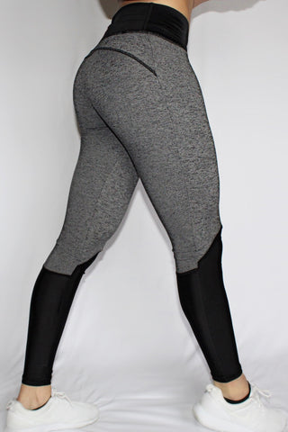 Charisse Collection - Leggings (Grey) - Scal Clothing - 2