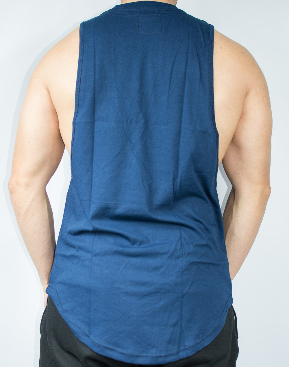 Scal Deluxe Cutoff Tee - Navy - Scal Clothing - 2