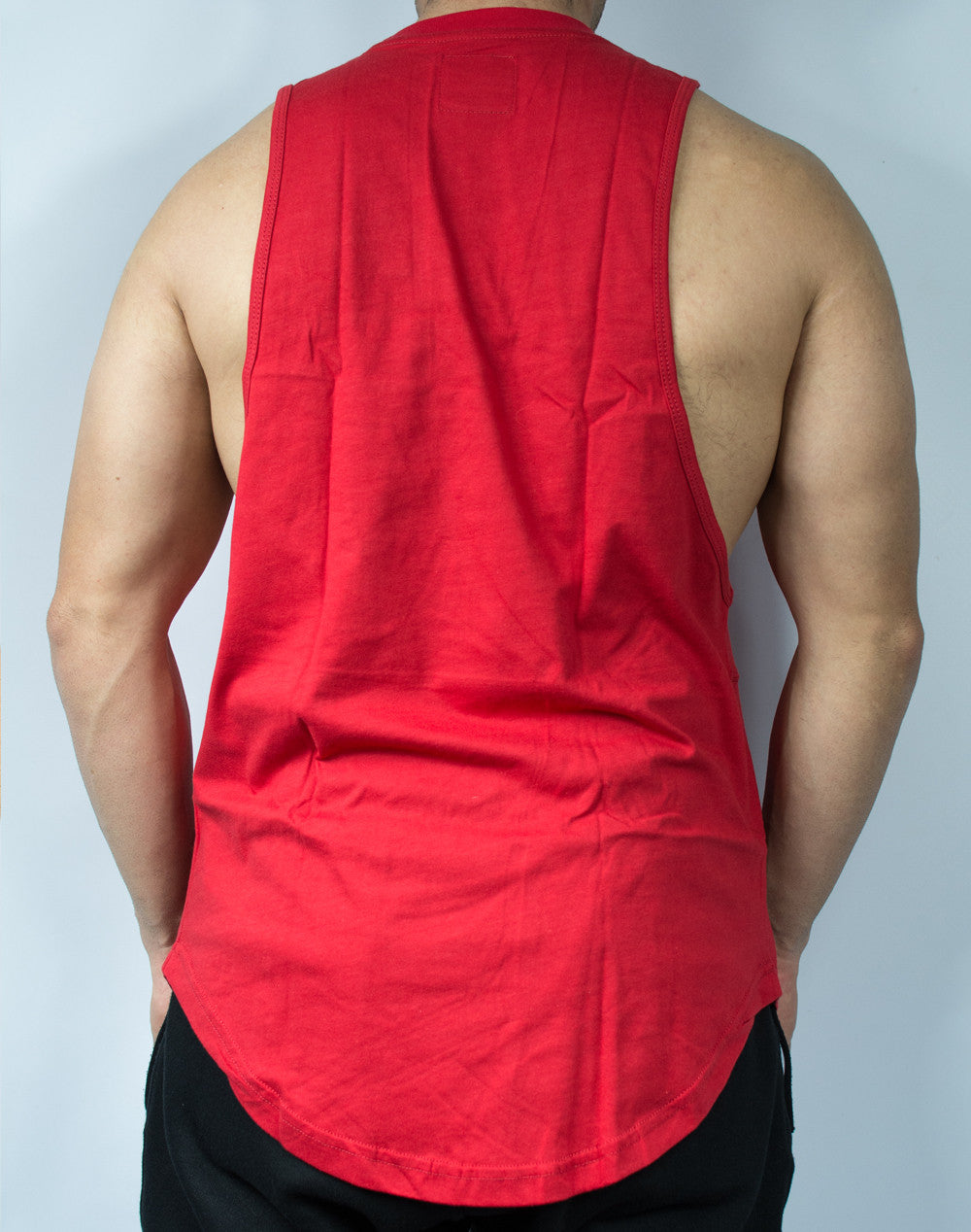 Scal Deluxe Cutoff Tee - Red - Scal Clothing - 3